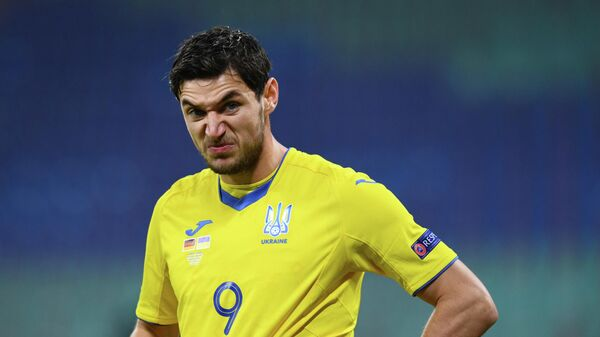 Футболист сборной Украины Роман Яремчук