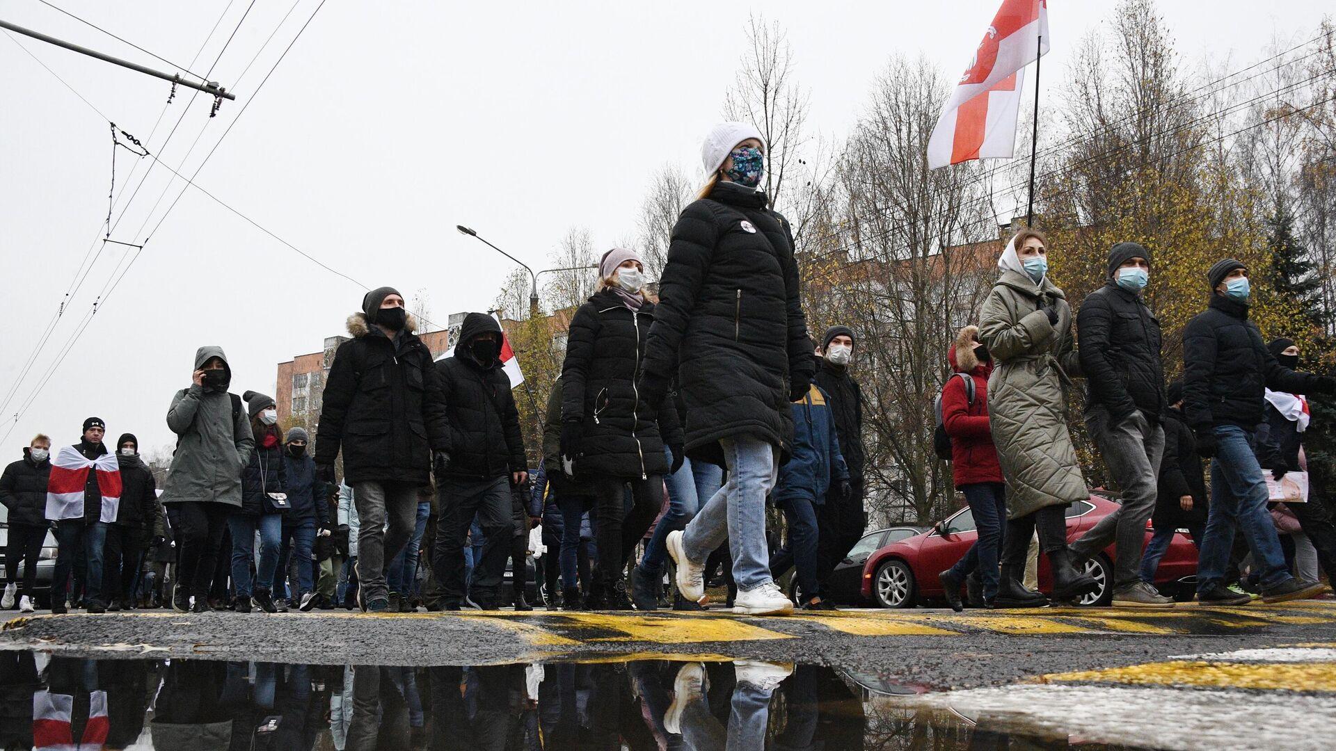 Акция протеста в Минске - РИА Новости, 1920, 27.12.2020