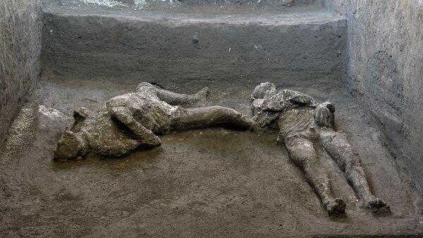 Останки двух жертв извержения вулкана Везувий в 79 году н.э