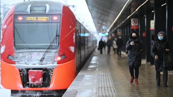 Открытие станции МЦД Ховрино