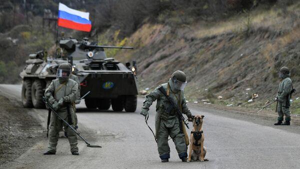 Специалисты противоминного центра Минобороны РФ в Карабахе