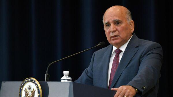 Министр иностранных дел Ирака Фуад Хусейн