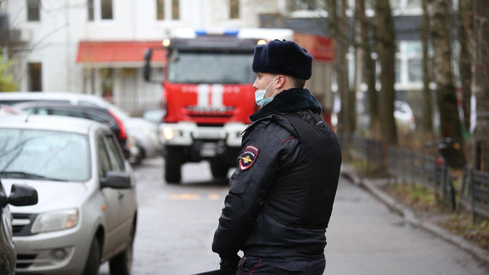 Сотрудник полиции - РИА Новости, 1920, 10.12.2020