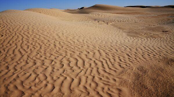 Пустыня Сахара в Тунисе