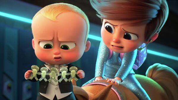 Кадр из трейлера 2 части мультфильма Босс-молокосос