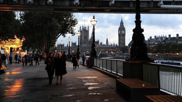 Золотой юбилейный мост в Лондоне