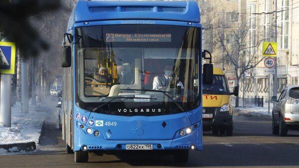 Автобус в городе Новокузнецк, Кемеровская область