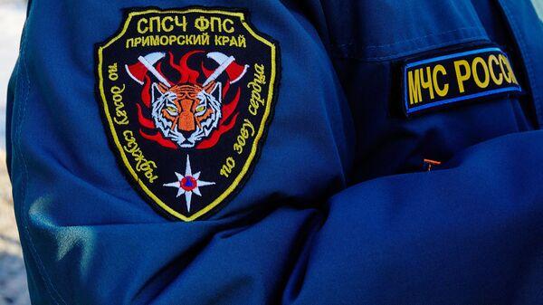 Сотрудник МЧС РФ во Владивостоке