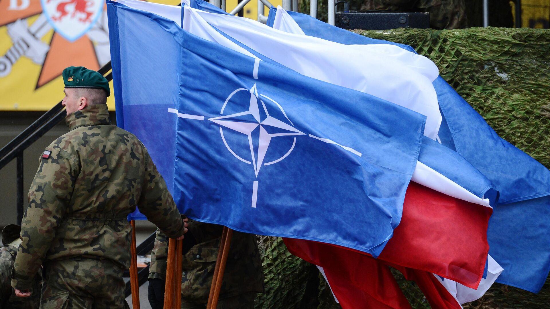 Церемония приветствия многонационального батальона НАТО под руководством США в польском Ожише - РИА Новости, 1920, 11.12.2020