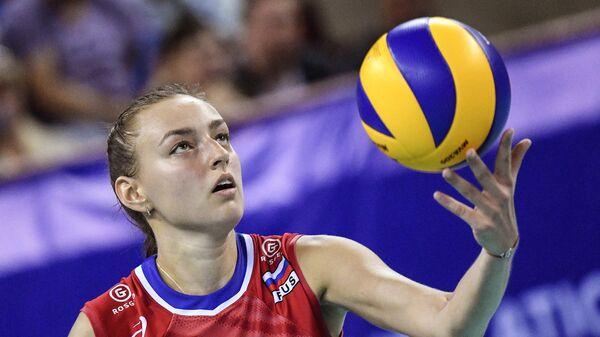 Волейбол. Женщины. Олимпийский отбор. Матч Россия - Республика Корея