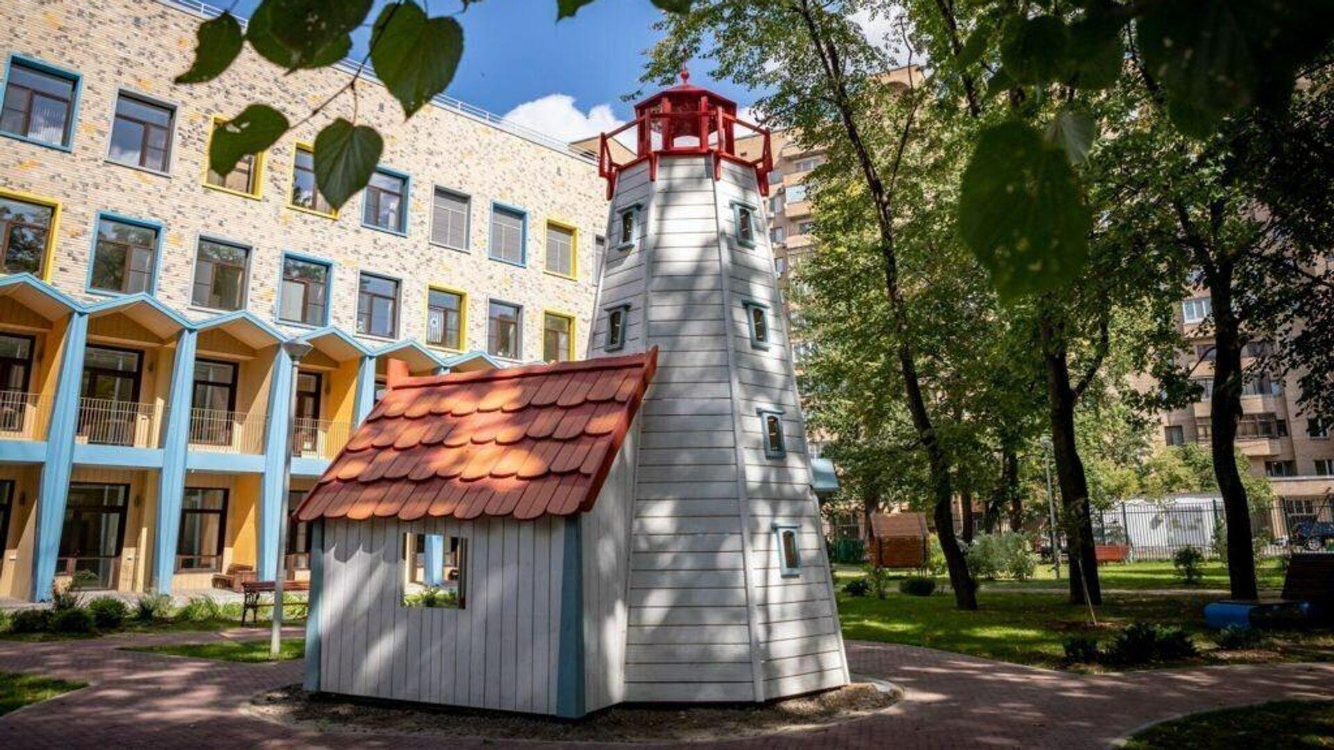 Московский хоспис Дом с маяком - РИА Новости, 1920, 11.12.2020