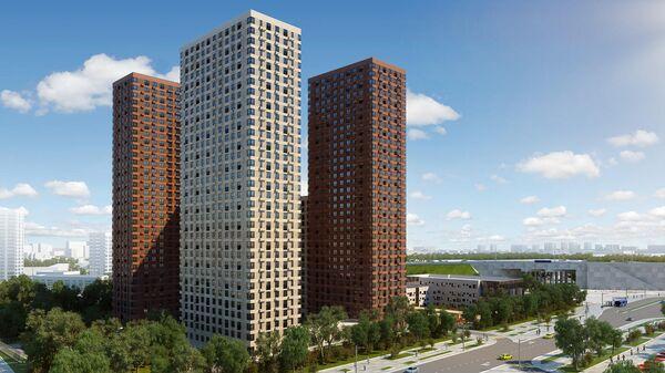 Проект жилого комплекса в Южнопортовом районе Москвы