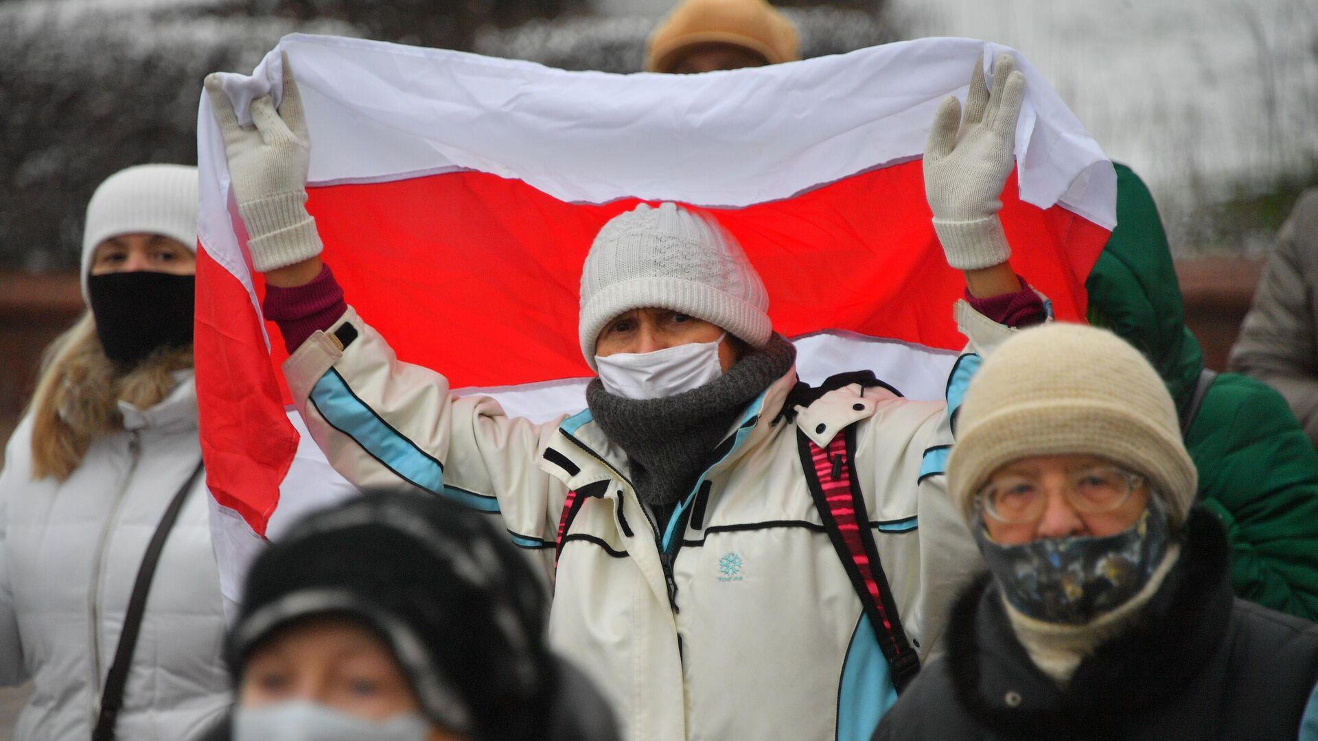 Участники акции протеста пенсионеров Марш мудрости в Минске - РИА Новости, 1920, 18.03.2021