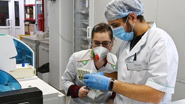 Оценка эффективности вакцины Sputnik V в лаборатории Гемотест