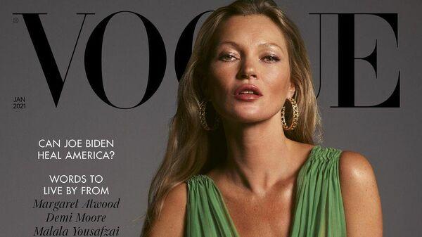 Обложка британского журнала Vogue за январь 2021