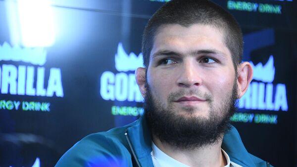 Российский чемпион UFC в лёгком весе Хабиб Нурмагомедов