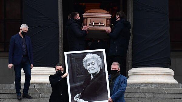 Прощание с Ириной Антоновой
