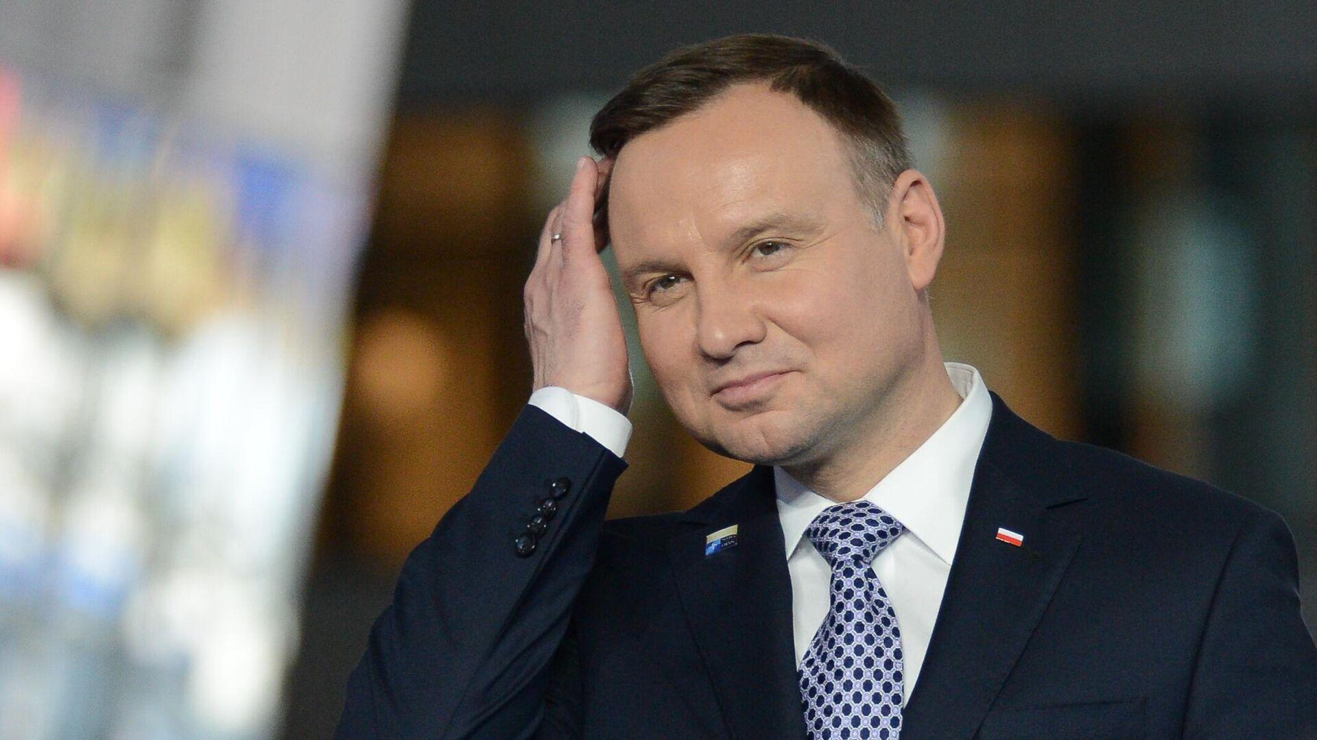 Президент Польши Анджей Дуда - РИА Новости, 1920, 23.09.2021