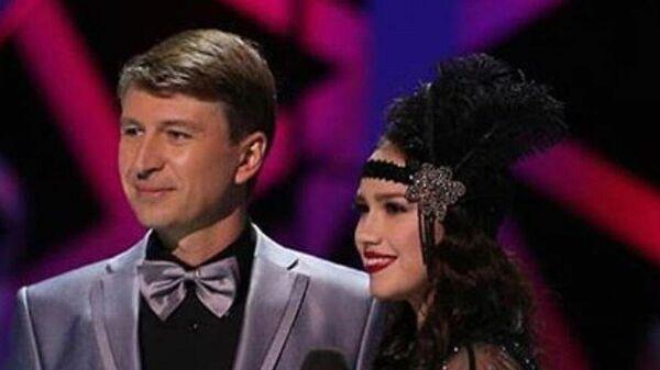 Алексей Ягудин и Алина Загитова на съемках Ледникового периода.