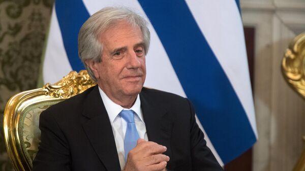 Президент Восточной Республики Уругвай Табаре Васкес