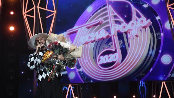 Певец Филипп Киркоров на концерте Песня года - 2020