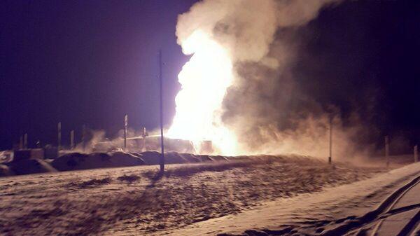 Возгорание на Таллинском месторождении-2