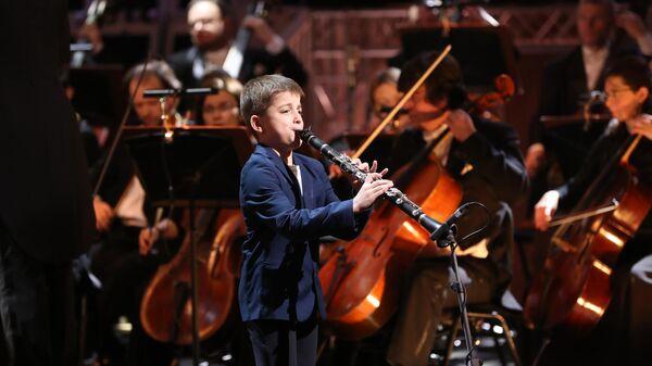 Андрей Зайцев на XXI Международном конкурсе юных музыкантов Щелкунчик