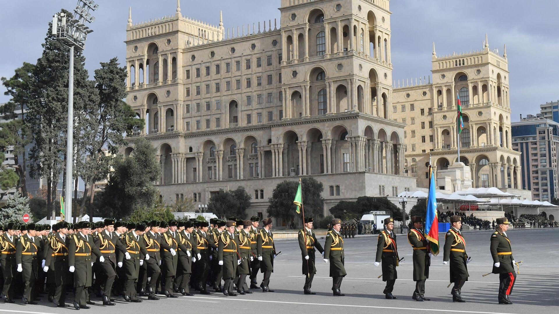 Военный парад в Баку - РИА Новости, 1920, 11.12.2020