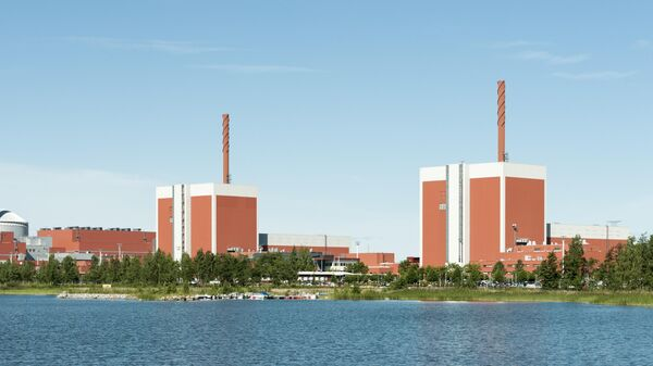 Атомная электростанция Олкилуото в Финляндии