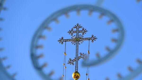Крест Благовещенского собора Казанского кремля
