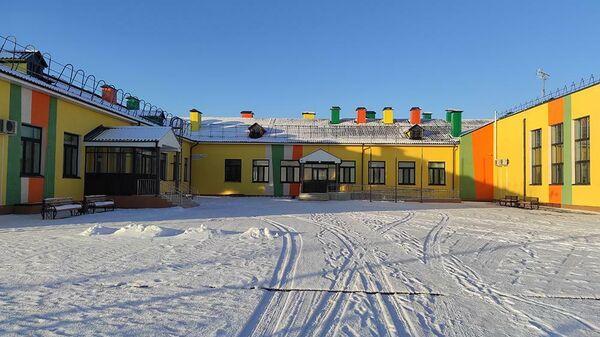 Школа в с. Горнослинкино Уватского района, построенная в рамках национального проекта Образование