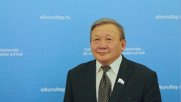 Председатель Государственного Собрания Республики Алтай Владимир Тюлентин. Архивное фото