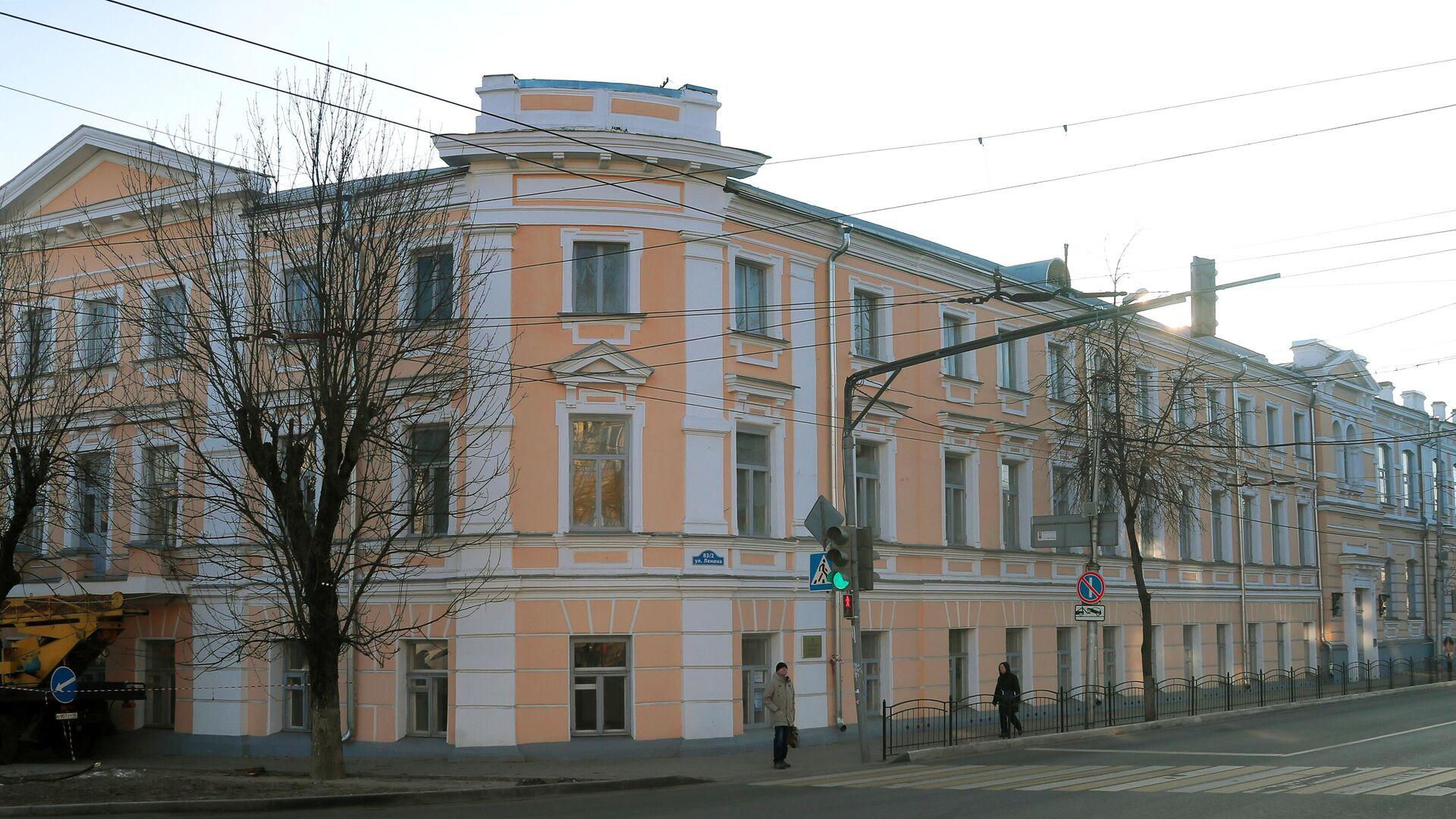 Здание Калужской мужской гимназии - РИА Новости, 1920, 05.10.2021