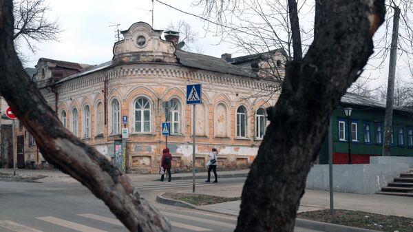 Дом Гончаровой на улице Воскресенской в Калуге