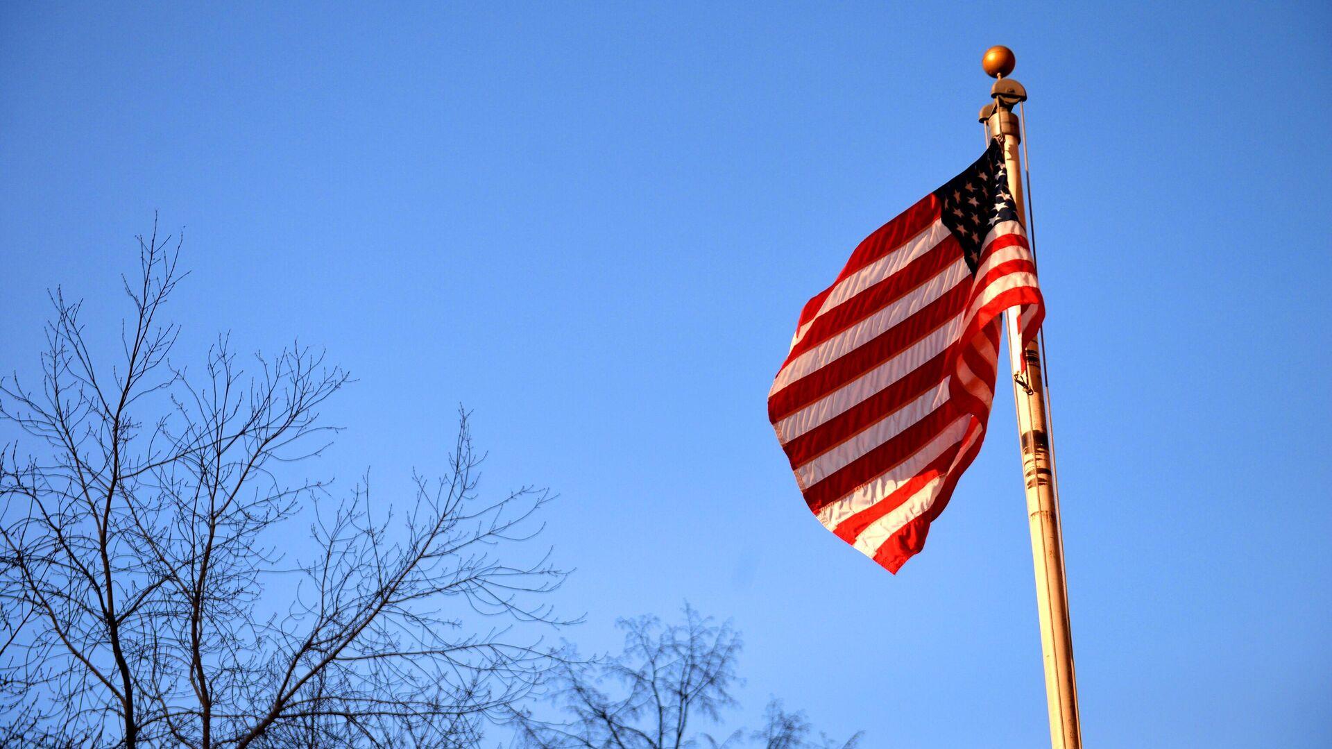 Флаг США у генерального консульства США в Екатеринбурге - РИА Новости, 1920, 03.08.2021