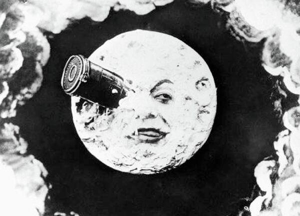 Кадр из фильма Путешествие на Луну