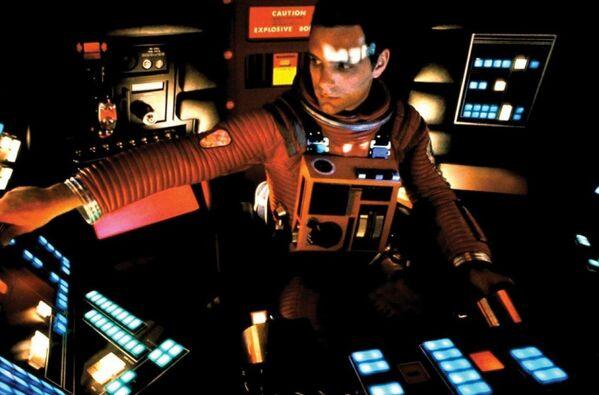 Кадр из фильма Космическая одиссея