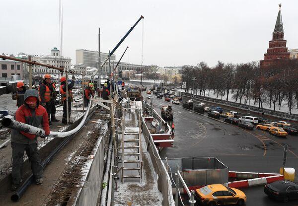 Ремонт Большого Каменного моста