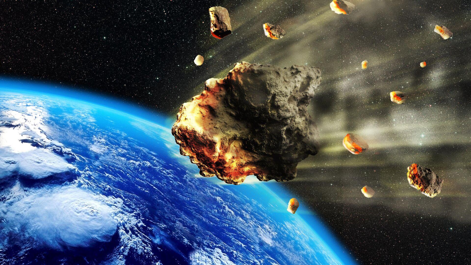 Астероиды в атмосфере Земли - РИА Новости, 1920, 05.01.2021