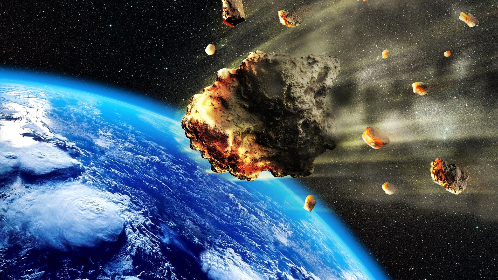 Астероиды в атмосфере Земли - РИА Новости, 1920, 30.06.2021