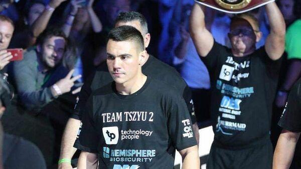 Австралийский боксер Тим Цзю