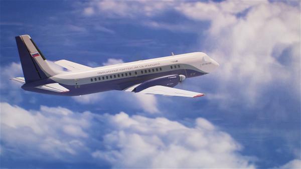 Новый российский пассажирский самолет Ил-114-300