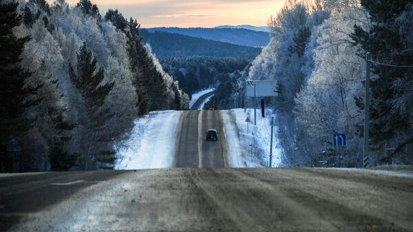 Байкальский тракт - автодорога из Иркутска в Листвянку