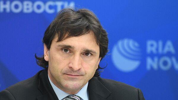 Президент Федерации тяжелой атлетики, член Исполкома IWF России Максим Агапитов