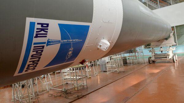 Цех ракетно-космического центра Прогресс в Самаре