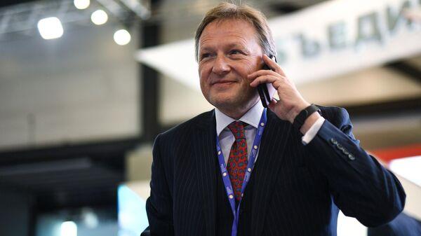 Уполномоченный при президенте РФ по защите прав предпринимателей Борис Титов на Санкт-Петербургском международном экономическом форуме