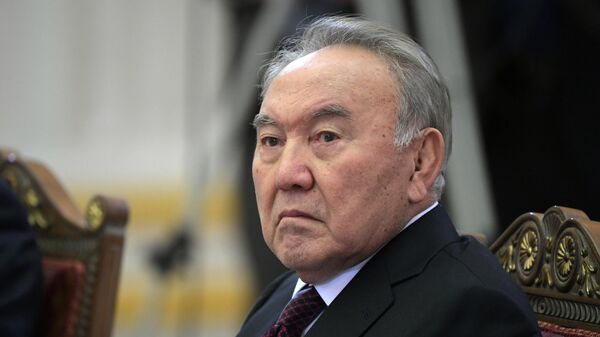 Бывший Республики Казахстан Нурсултан Назарбаев