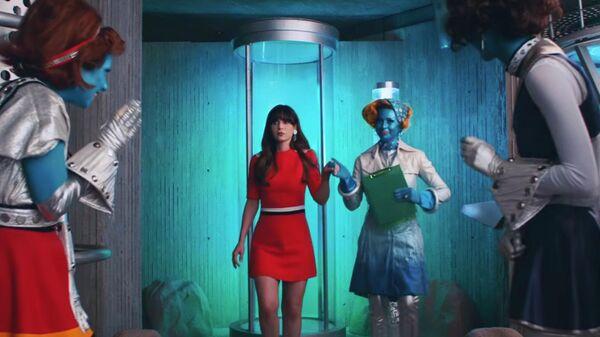 Кадр из видеоклипа Katy Perry Not the End of the World