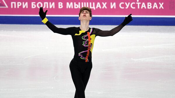 Фигурное катание. Чемпионат России. Мужчины. Короткая программа