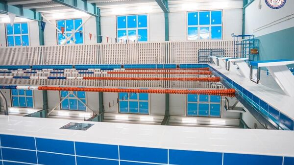 Спортивный комплекс с плавательными бассейнами в Нижнем-Бестяхе Мегино-Кангаласского улуса Якутии